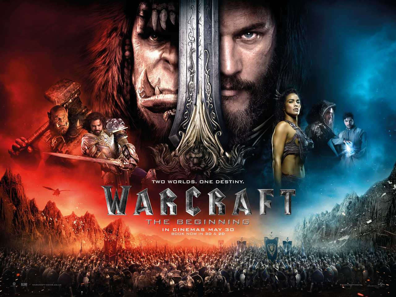 Review Blog: Warcraft the Movie