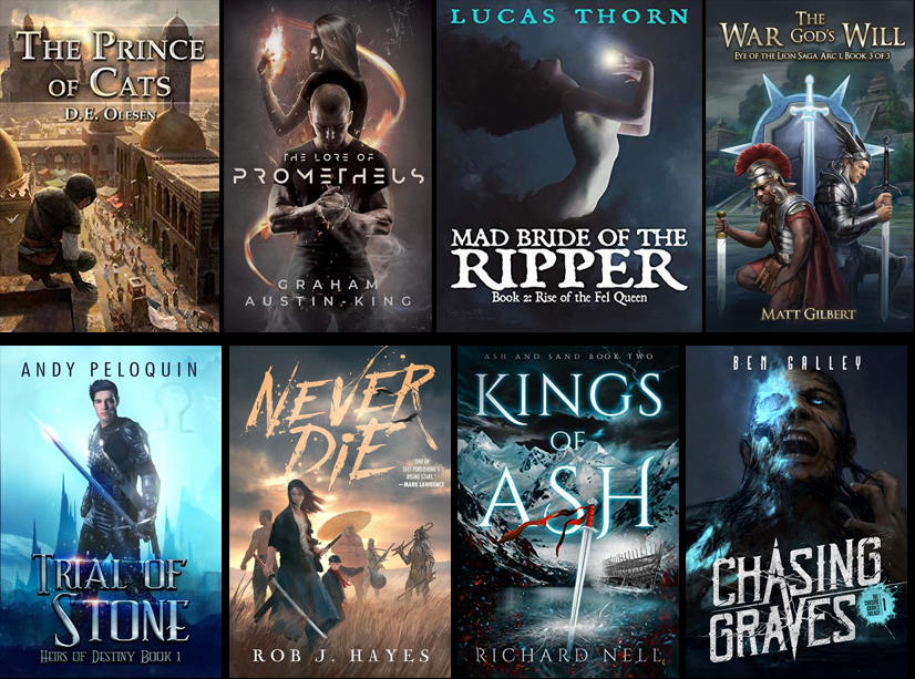 Self Published Fantasy Releases December – January