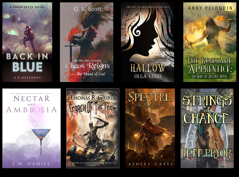 Self Published Fantasy Releases – May