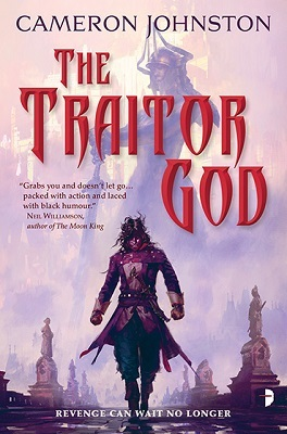 Review Blog – The Traitor God (Age of Tyranny #1) by Cameron Johnston