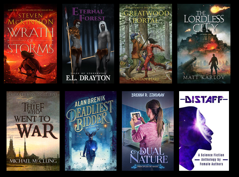 Self Published Fantasy Releases – August 2019