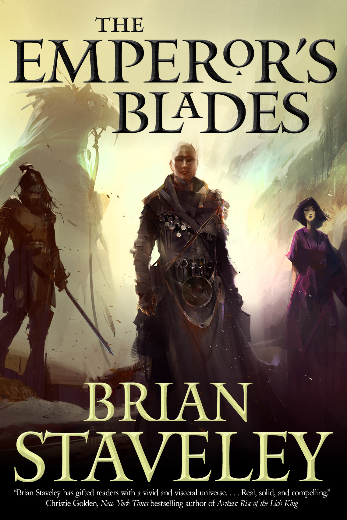 Book Review: The Emperor's Blades by Brian Stavely