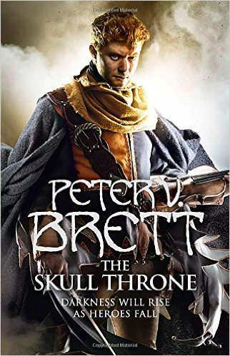 Review Blog – The Skull Throne by Peter V. Brett