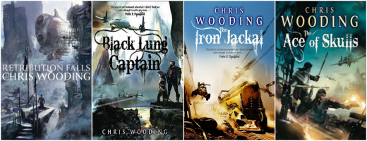 5 of My Favourite Fantasy Book Covers