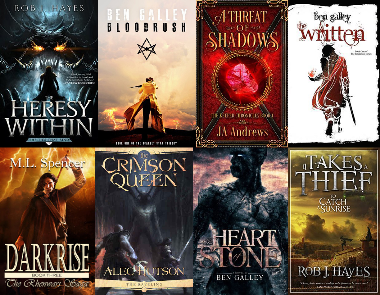 Self Published Fantasy on Sale this Holidays