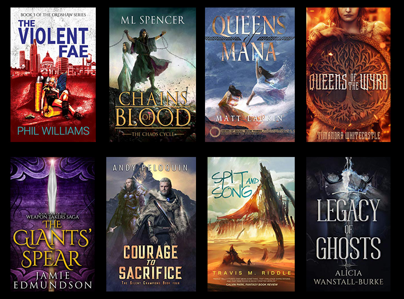 Self Published Fantasy Releases – November 2019
